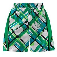 Nike Paint Splatter Plaid Volley Shorts