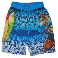 Alvin &amp; the Chipmunks Boys Swim Trunks