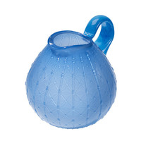 Mouth blown Grand Bernard jug blue | Scholten & Baijings | Thomas Eyck | Wannekes.com