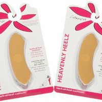 Foot Petals Women's Heavenly Heelz 3 Pack Cushion Combo