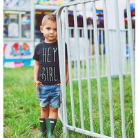 "The Gosling | Toddler/Child ""Hey Girl"" Tee 