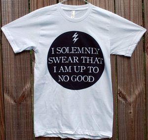 Harry Potter 'I Solemnly Swear That I Am Up To No Good' Shirt | Wicked Clothes