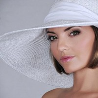 Physician Endorsed Stardust UPF 50+ Large Brim Sun Hat