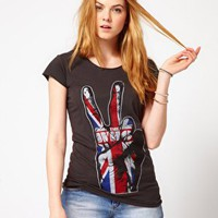 Amplified | Amplified - The Who - T-shirt con cuciture a contrasto su ASOS
