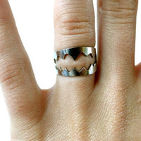 $25.00 Shark Mouth Ring Bear Trap Ferocious by natalierwoodJewelry