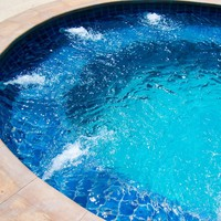 ROUND HOT TUB WITH CHROMOTHERAPY 7-SEATS BL-818 | HOT TUB | BEAUTY LUXURY