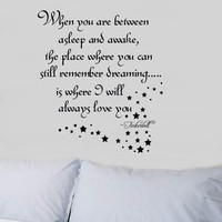 Tinkerbell Wall Decal