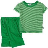Splendid Littles Mini Stripe Tee/Short Set, Outfield