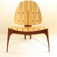 Outdoor Furniture Modern Patio Chair by fillingham on Etsy