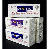 Premo! Sculpey- White One Pound Bar