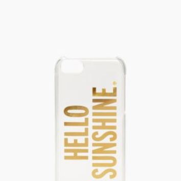 hello sunshine iphone 5c case - kate spade new york