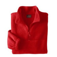 Harriton Quarter-Zip Fleece Pullover. M980