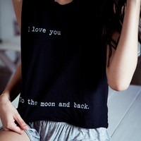 SADIE TO THE MOON AND BACK TANK