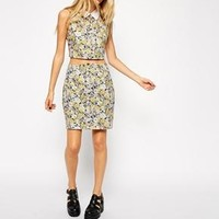 ASOS | ASOS Reclaimed Vintage Skirt in Washed Floral Print at ASOS