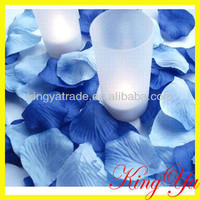 Decoration Blue Fake Fabric Rose Petals And Wedding Accessories (ky82058-14) - Buy Blue Rose Petals,Scented Rose Petals,Fake Rose Petals Wedding Product on Alibaba.com