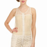 HEIMSTONE ROBIN PLAYSUIT - IVORY - H807-VI-VT - WOMEN - JUST IN - OPENING CEREMONY