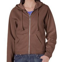Chouinard Ladies Full-Zip Hooded Sweatshirt