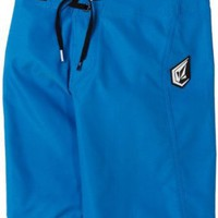 Volcom Boys 8-20 Maguro Solid Youth Swimwear
