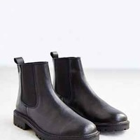 Silence + Noise Treaded Leather Ankle Boot - Urban Outfitters