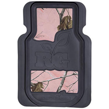 Realtree Girl Realtree AP Pink Camo Front Floor Mats - 2pc