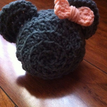 Disney inspired Minnie Mouse Silhouette Plush