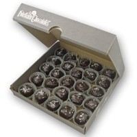 Salted Caramels in Dark Chocolate - 25 Piece Bulk Box - by Dilettante