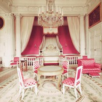 Princess Pink Chambers - Versailles - Paris - Pink White - Fine Art Travel Photography 8x10&quot; | Luulla