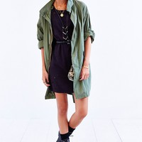 Capulet Oversized Military Parka - Urban Outfitters