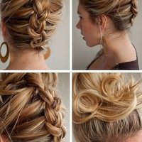 Hair Romance: 30 Days of Twist & Pin Hairstyles – Day 13