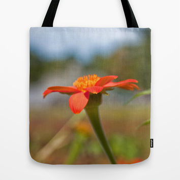 September Flowers Tote Bag by Legends of Darkness | Society6