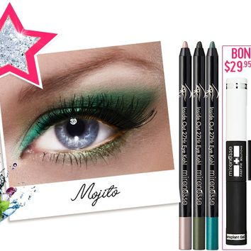 *SP 27hr Inside Out Mojito Cocktail Colour FREE INSTANT LASH TRANSPLANT DUET - Mirenesse