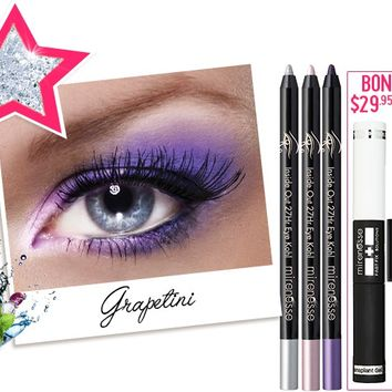 *SP 27Hr Inside Out Grapetini Cocktail Colour FREE INSTANT LASH TRANSPLANT DUET - Mirenesse