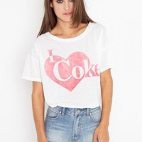 I Heart Coke Tee | NASTY GAL | Jeffrey Campbell shoes, Cheap Monday, MinkPink, BB Dakota, UNIF + more!