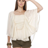 Lady Macbeth Ivory Top