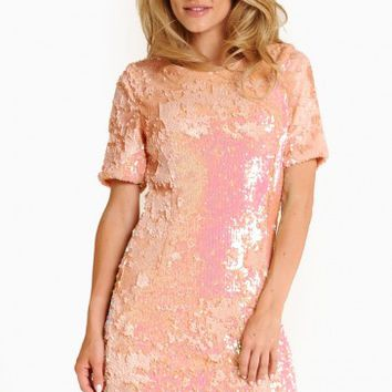 Mia Sequin Shift Dress