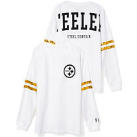 Pittsburgh Steelers Bling Varsity Crew - PINK - Victoria's Secret