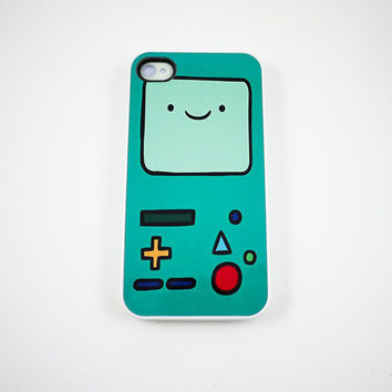 Beemo Adventure Time iPhone 4 Case iPhone 4s Case by rabbitsmile