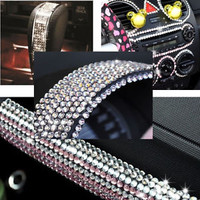 500pc Home Car Decoration Sticker Decal Diamond Crystal DIY 6mm Rhinestone Sheet