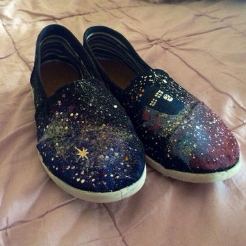 Doctor Who Galaxy Slip On Shoes