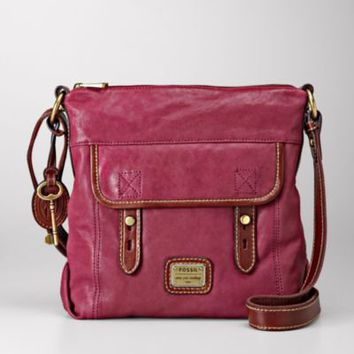 FOSSIL Handbag Silhouettes Crossbody:Women Tessa Top Zip ZB5286