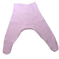 Light Pink Pointelle Baby Tights