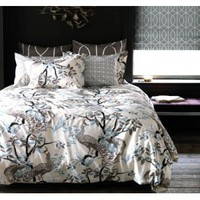 DwellStudio Peacock King Duvet Set