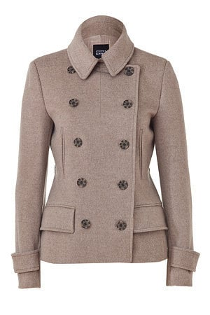 STYLEBOP.com | Soft Nougat Double-Breasted Jacket by STEFFEN SCHRAUT | the latest trends from the capitals of the world