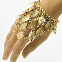 "30% off use promo code ""wanelo"" at checkout. Forest Nymph Gold Slave Bracelet"