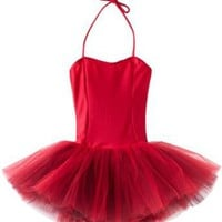 Sansha Girls 2-6X Shirley Leotard w/ Tutu