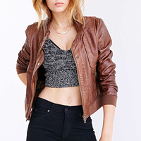 Members Only X UO Aviator Bomber Jacket-