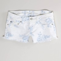 AE FLORAL DENIM SHORTIE
