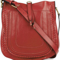 Chloé | Marcie leather shoulder bag | NET-A-PORTER.COM