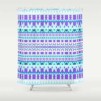 Mix #516 Shower Curtain by Ornaart