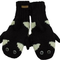 DeLux Orca Wool Animal Mittens